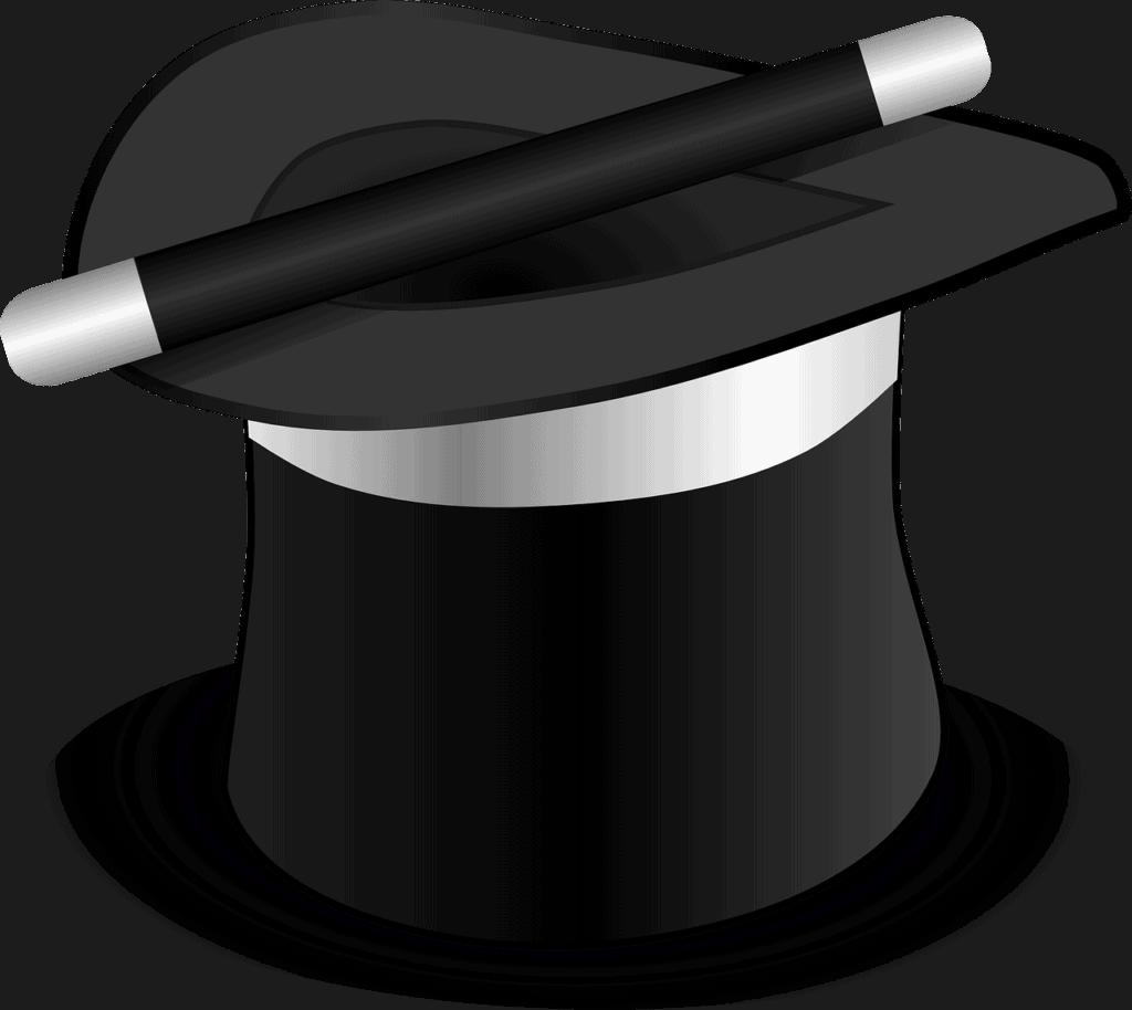 מקל וכובע